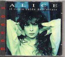 ALICE CD fuori catalogo IL VENTO CALDO DELL'ESTATE  1A ediz NUOVO SIGILLATO