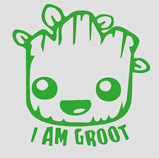 """I AM Groot baby Guardians of the Galaxy VINYL Decals  4""""X4"""" buy 2 get 1 free"""