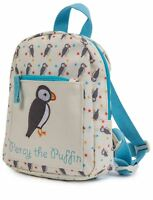 Pink Lining CHILD MINI RUCKSACK PERCY THE PUFFIN Baby Clothing Travel BN