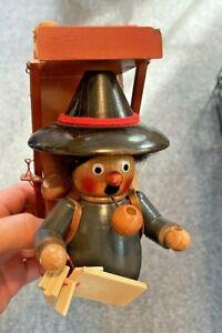 Vintage Steinbach Smoker Merchant Peddler German Smoker (Missing Base)