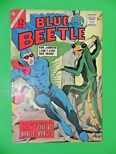 1964 Silver Age Blue Beetle 4 Praying Mantis Charlton Rare Hot Key 7.0 - 7.5