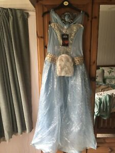 Frozen Tu Elsa Costume Halloween Adult Ladies Size 12-14