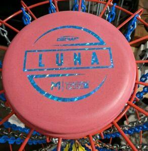 DISCRAFT PAUL MCBETH LUNA PUTTER 174-175g - RED W/ BLUE