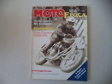 MOTO STORICHE E D'EPOCA 10/1995 SIRZA/GUZZI 500 GAMBA DOLZA/MV AGUSTA 4 CILINDRI