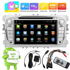 "Android 6.0 7""Touch GPS Car DVD/CD Player Radio Stereo BT WIFI HD For Ford Focus"
