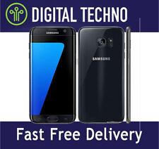 Unlocked Samsung Galaxy S7 Black 32GB - SIM Free Android Phone + 1 Year Warranty