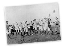 WANDERERS RUGBY FOOTBALL V TRINITY LEINSTER CUP FINAL 1894 VINTAGE MOUNTED PRINT