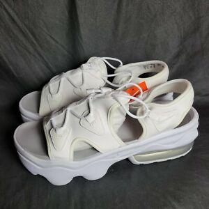 NEW Nike Air Max Koko Sandal Women's Size 12 White Photon Dust  CW9705 100
