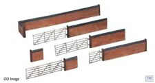 42-107 Scenecraft N Gauge Red Brick Walls and Gate