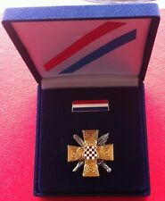 HVO RATNI SPOMEN KRIŽ, Croatia Bosnia army, War Memorial Cross, 1992 - 1995, BOX
