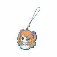 One Piece PVC Strap Keychain Charm New World ~ Trafalgar Law with Sword @OP00001