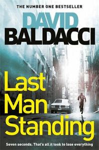 NEW Last Man Standing By David Baldacci Paperback Free Shipping
