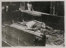 1930's PRESS PHOTOGRAPH VICTIM OF HINDU MUSLIM RIOTS IN INDIA