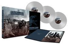 PEARL JAM New Sealed 2017 LIVE CONCERT 3 CLEAR VINYL RECORD BOXSET