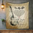 The Beatles Blanket Gift for Music Lover Funny Birthday Gift For Wife Dad Mom