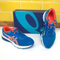 Asics GT-1000 8 GS Blue / Koi Trainers Running Shoes Junior UK 5.5 - Brand New