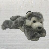 Husky Dog Floppy Plush stuffed animal Toy - Puppy- Lovey