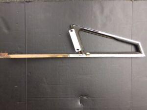 AH Austin Healey 3000 BJ7 BJ8 Right Vent Glass Ventilator (no glass) USED OEM