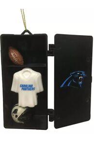 Carolina Panthers Team Locker Ornament NFL - Football Fan Christmas Gift V1