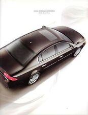 2009 09 Buick  Lucerne  original sales brochure MINT