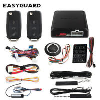 EASYGUARD pke car alarm remote control start push to start passive keyless alarm