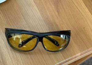 Polarized Yellow Lens Night Driving Glasses - HD/Anti Glare