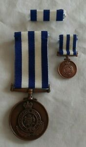 """(NSW Corrective Services- """"For Fifteen Years Service""""  Three piece set)-D0-MEDAL"""