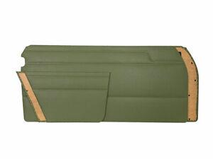 MERCEDES W114 COUPE 250C GREEN LEATHERETTE DOOR PANEL SET 4 PCS PAIR