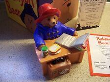COALPORT CHARACTERS PADDINGTON BEAR BOXED PADDINGTON ON LINE SITTING AT COMPUTER