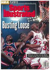 May 25, 1992 Michael Jordan Chicago Bulls Sports Illustrated NO LABEL