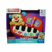 Fisher Price Toy Puppys Piano Laugh Learn Musical Instrument Age 12+ Months New