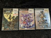 Kingdom Hearts Trilogy  PS2 CIB Complete In Box