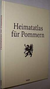 Pommern Atlas 1928 Landkarten Chronik Pomerania Geschichte Heimatatlas Landkarte