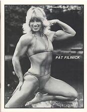 WOMEN'S PHYSIQUE PUBLICATION female bodybuilding mag/Pat Fikinick/ Rachel 2-84