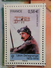 FRANCE 2010, TP 4509, DELAGRANGE AVIATION, AVION, neuf**, MNH STAMP PLANE FLYING