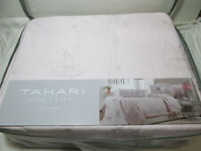 Tahari Home Kids BALLERINA Dancers Twin Quilt  ~ Pink & Silver Shimmering NEW