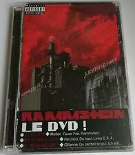 RAMMSTEIN - LICHTSPIELHAUS / DVD + FRENCH HYPE STICKER / 2003 / *MEGARAR*