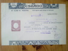 A195-PAPEL SELLADO ENTEROS FISCALES PAGOS ESTADO 10 PTS
