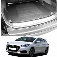 Hyundai i40 cw estate tailored boot tray load liner dog mat or bumper protector