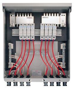 MidNite Solar MNPV8-MC4 Pre-Wired Combiner 8 Position NEMA 3R