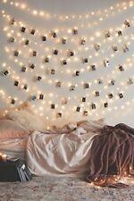 50 LED Clip cadena luces Decoracion interior / exterior impulsado secuencia d...
