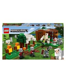 LEGO Minecraft The Pillager Outpost Building Set 21159 Age 5+ 303pcs