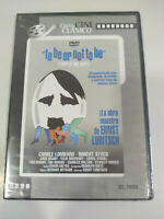 To Be Or Not Ernst Lubitsch - DVD Regione 2 Spagnolo Inglese Nuovo
