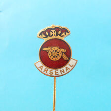 ARSENAL FC - England football soccer club vintage enamel pin badge * British
