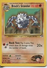 Pokemon Gym Heroes Uncommon Card #40/132 Brocks Graveler