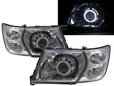 Patrol Safari Y61 MK5 01-07 5D CCFL Projector Headlight Chrome for NISSAN LHD