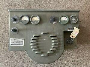 MEP  GENERATOR CONTROL HEAD mep-021c mep-016c mep-026c nsn 6115001339121