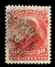 #46  20c Canada used well centered XF cv $150
