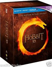 ❏ The Hobbit 3 Film Trilogy Blu Ray 3D  ❏ Lord of the Rings JOURNEY SMAUG ARMIES