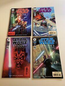 Star Wars Episode 1 Dark Horse Comics 1-4 Set Comics